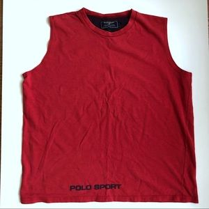 90s Ralph Lauren Polo Sport Muscle Shirt Sz Large